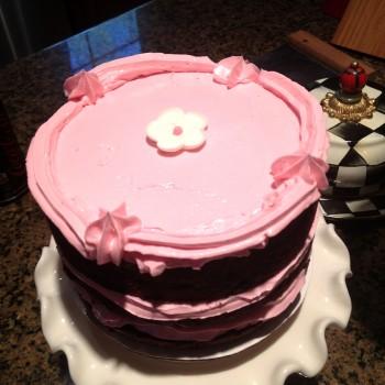 dbl chocolate cake